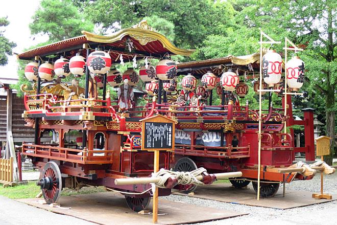新発田祭りの台輪