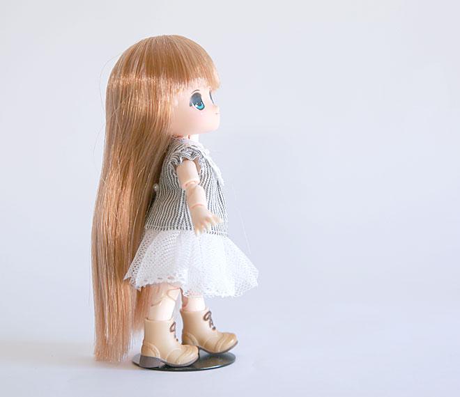 オビツ11サイズ「ヨークブラウス&チュールスカート」5