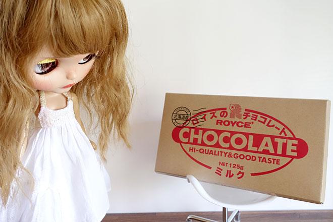 ブライス×ロイズの板チョコ「ミルク」