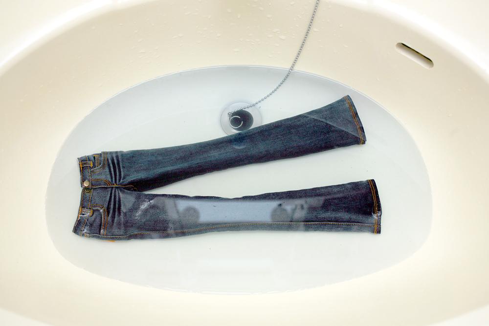 水洗いテスト