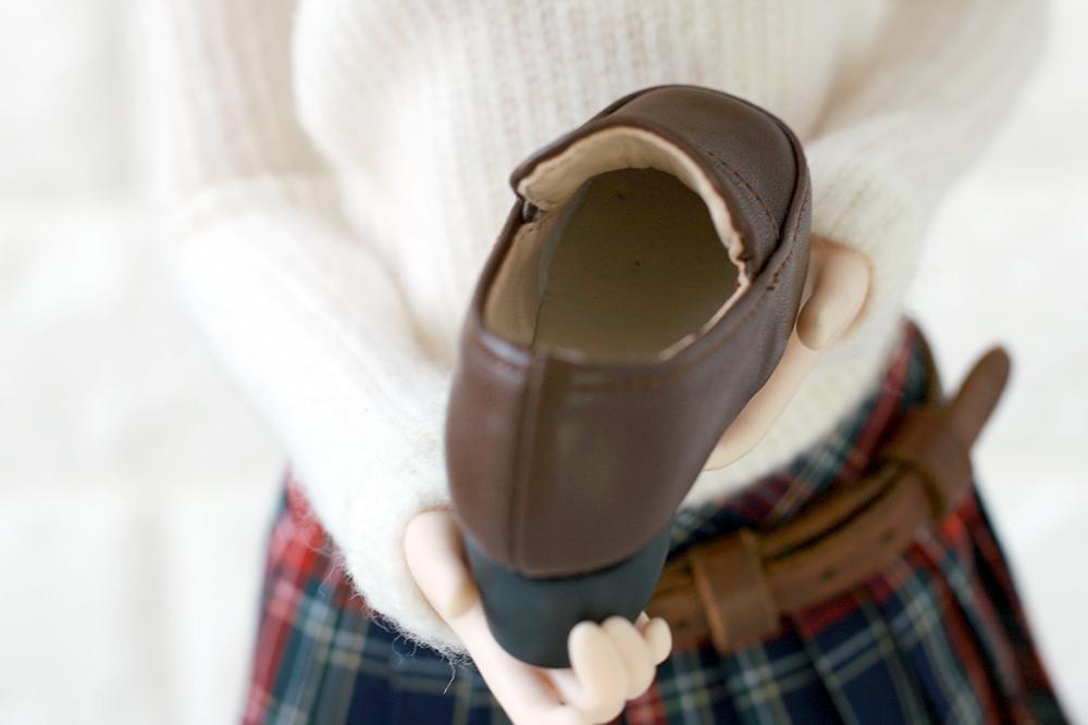 靴の中は肌色