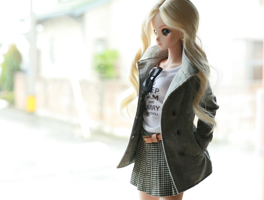 メロディーちゃんのジャケットスタイル