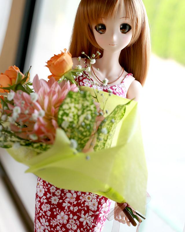 一周年お祝い花束